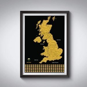UK Scratch Off Maps