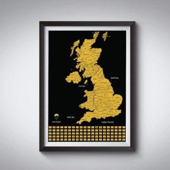 UK Scratch Off Maps