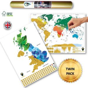 World Scratch Off Maps UK Scratch Map Colours White | Global Walkabout