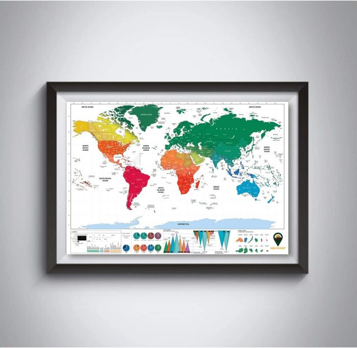 World Scratch Off Maps_UK Map_White | Global Walkabout