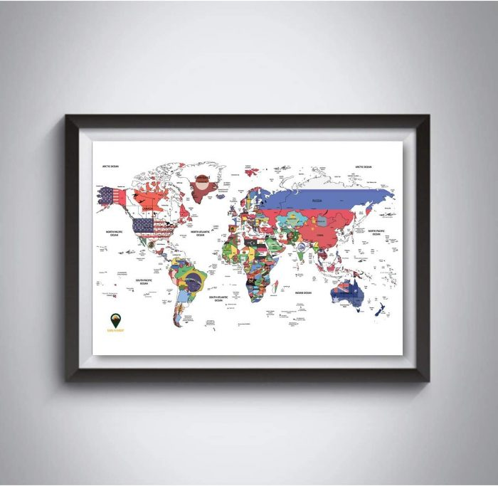 World Europe UK_With Maps_Triple Pack Maps_White | Global Walkabout